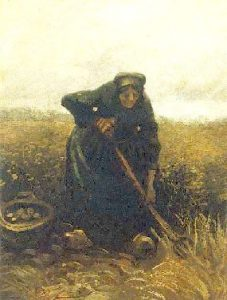 Woman_lifting_Potatoes_by_Vincent_Van_Gogh