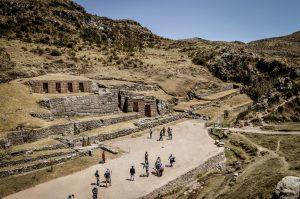 Ancient Inca ruins - Tambomachay near Cusco, Peru